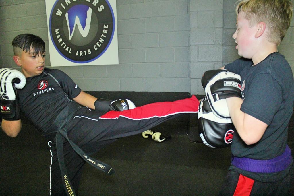 Zak Kicking